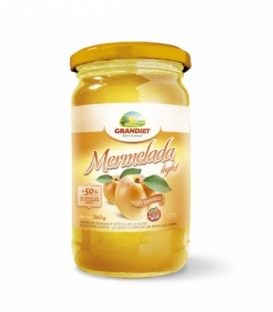 Mermelada light sabor damasco