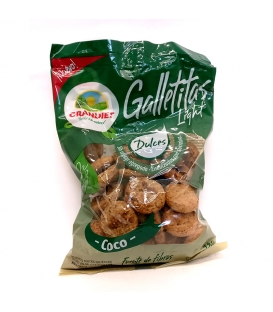 Galletas Light Grandiet sabor coco (6 paquetes)